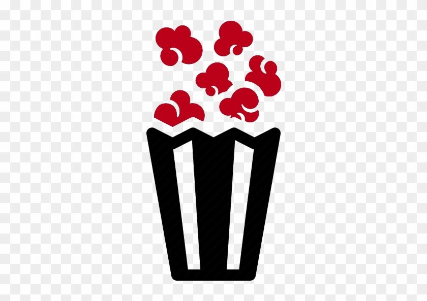 Popcorn Machine - Popcorn Icon Png #263701