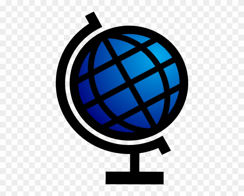 Globe Svg Clip Arts 456 X 596 Px - Globe Stand #263817