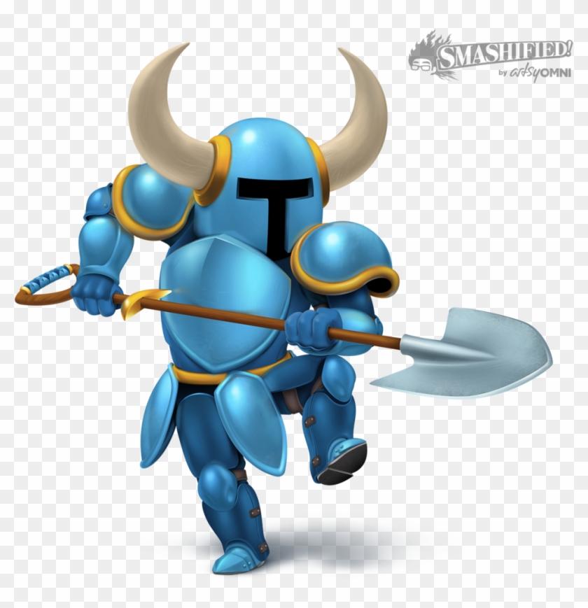 Callmeknuckles 14 4 Shovel Knight Smashified By Hextupleyoodot - Super Smash Bros. For Nintendo 3ds And Wii U #263987