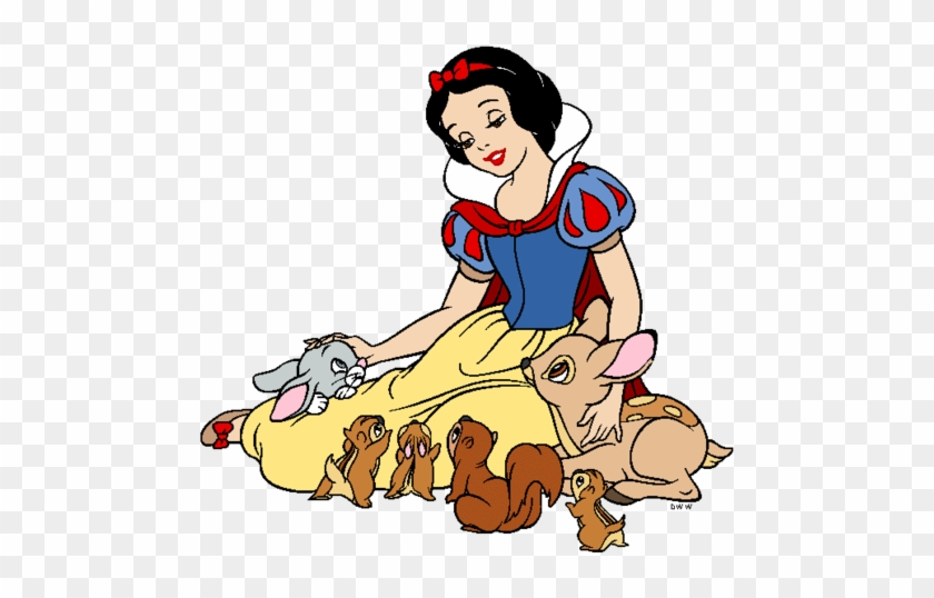 Snow White And The Seven Dwarfs Wallpaper Probably - Snow White And The Seven Dwarfs Clipart #264099