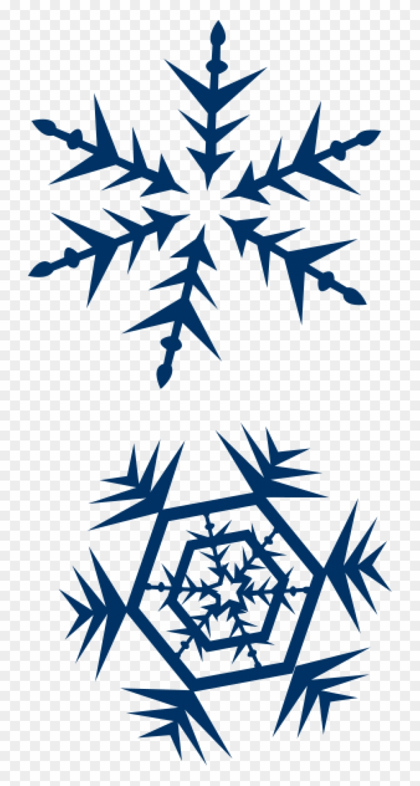 Permalink To Snow Clipart Free Earth Clipart - Navy Blue Snow Flake #264219