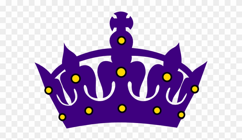 Crown Clipart Purple Crown - Clip Art Queen Crown #264262