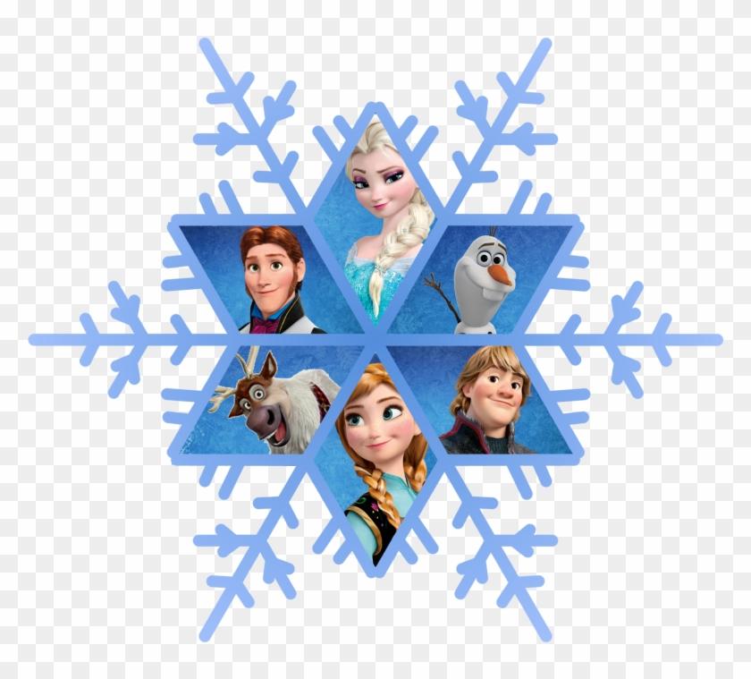 Frozen Snowflake Png Free Download - Frozen Snowflakes #264276