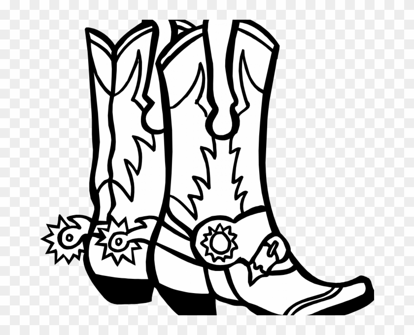 How To Draw Cowboy Boots Kids Coloring Cowboy Hat Coloring Page
