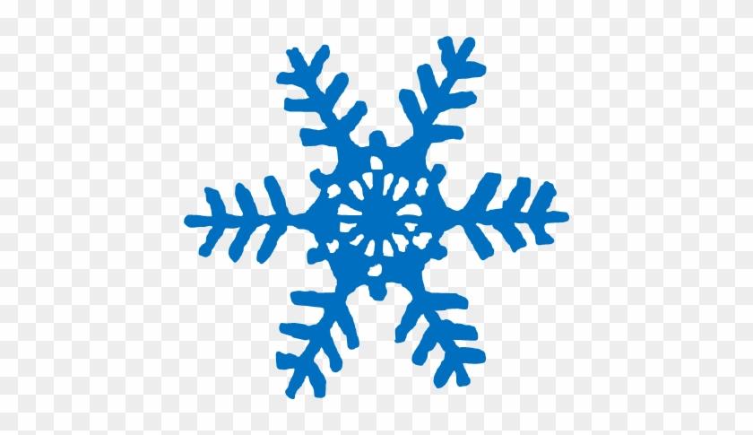 Blue Snowflake - Snowflake #264289