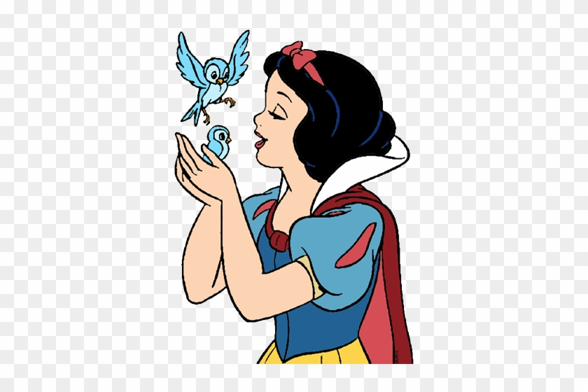 Steps Snow White Birds Snow White Coloring Pages Free