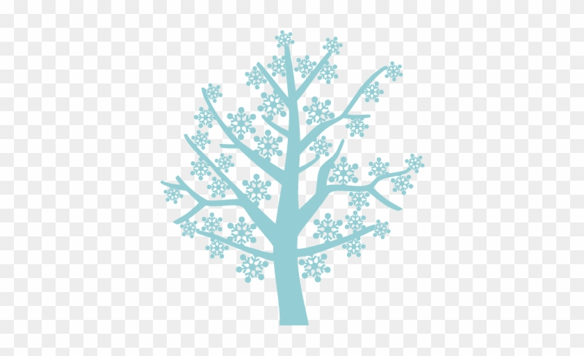 Snowflake Tree Free Svg Scrapbook Cut File Cute Clipart - Free Cut File Tree Svg #264363