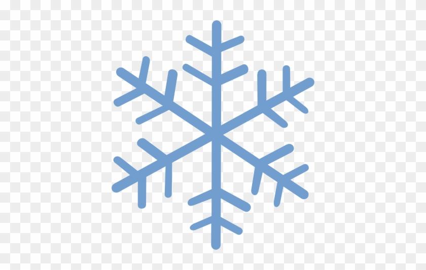 Snowflake Png - Blue Snow Flake #264409