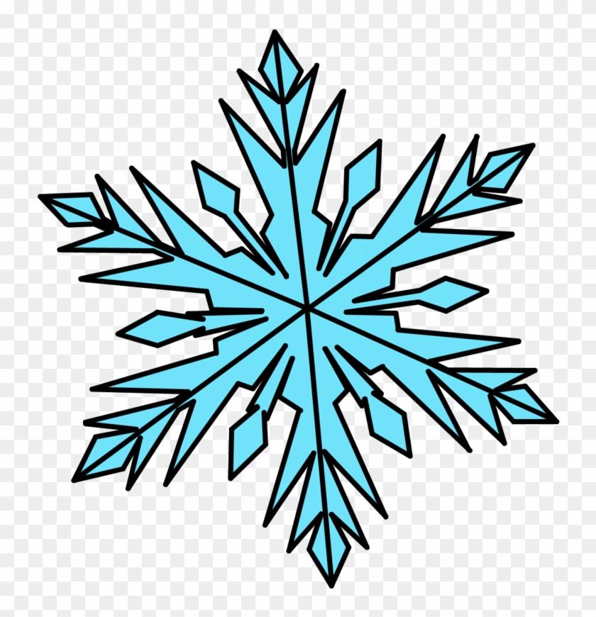 Elsa Snowflake Template