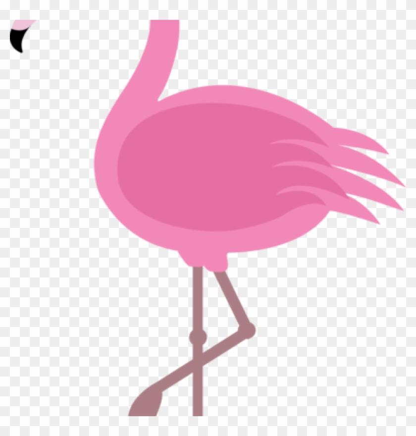 Flamingo Clipart Elegant Pink Flamingo Clip Art Binatang - Flamingo Clip Art #264596
