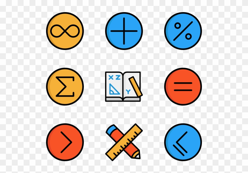 Math Symbols Mathematics Free Transparent Png Clipart Images