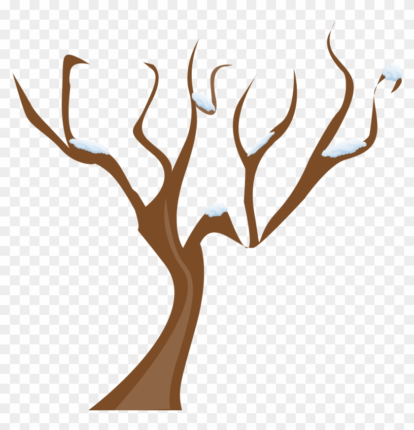 Get Notified Of Exclusive Freebies - Tree Without Leaves Clipart #265067