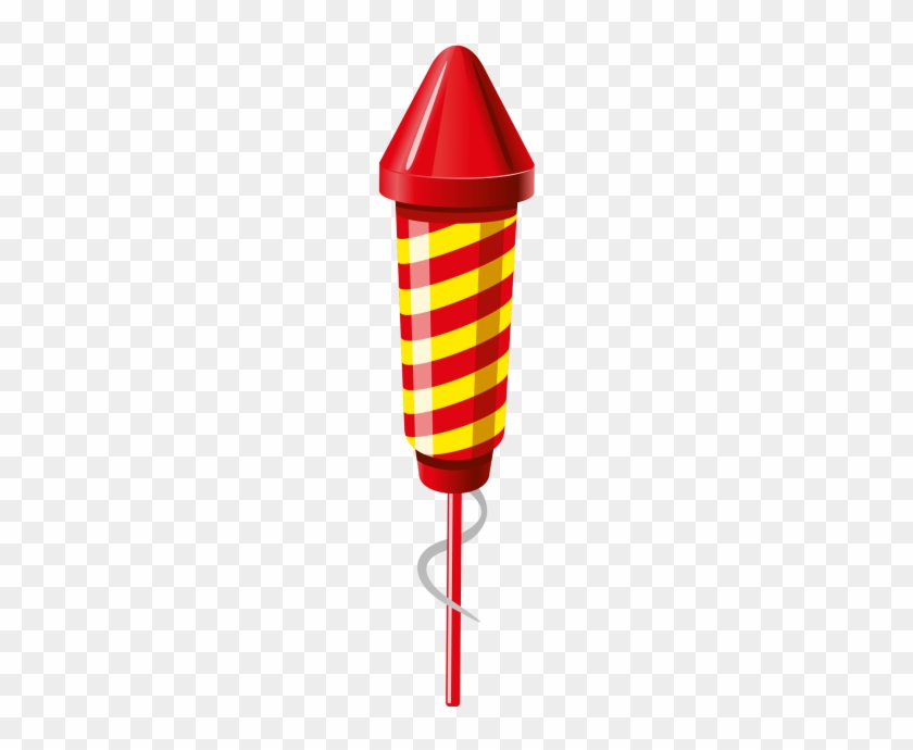 5 Firework Rockets Clipart #1732657