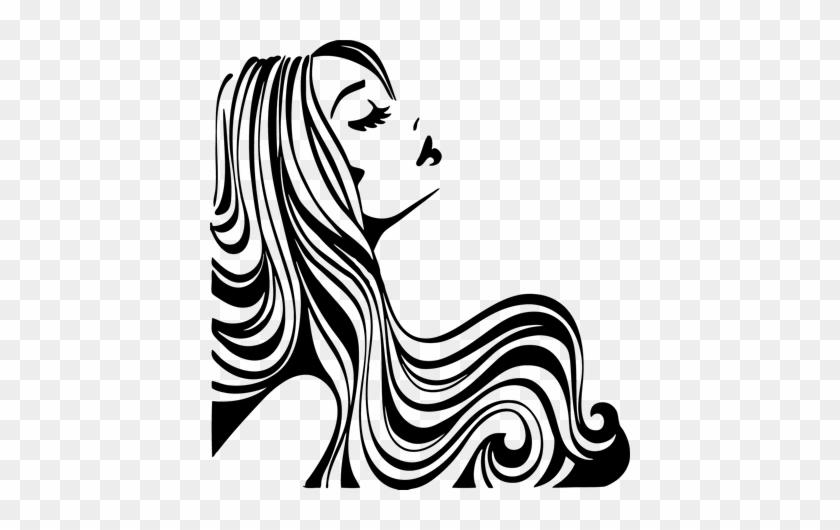 Salon Art Hair Clipart Hair Vector Woman Silhouette Clip Art Beauty Salon Free Transparent Png Clipart Images Download