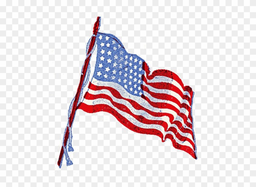 American Flag Moving Animation Free Transparent Png Clipart Images Download