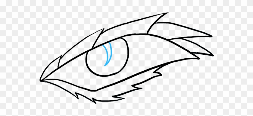 How To Draw Dragon Eye - Draw A Easy Dragon #1735585