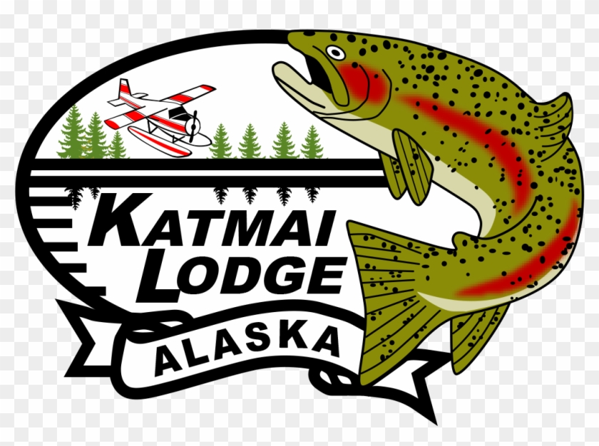 Katmai Lodge From 200 Feet In The Air - Trout #1738109