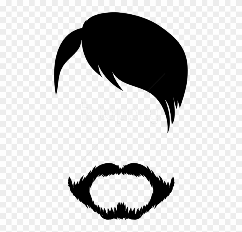 Download Male Hair And Beard Png Clipart Png Photo - Picsart