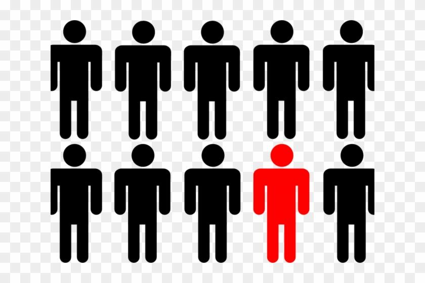 Stands Clipart Line Leader - Similarity Gestalt Principle #1742166