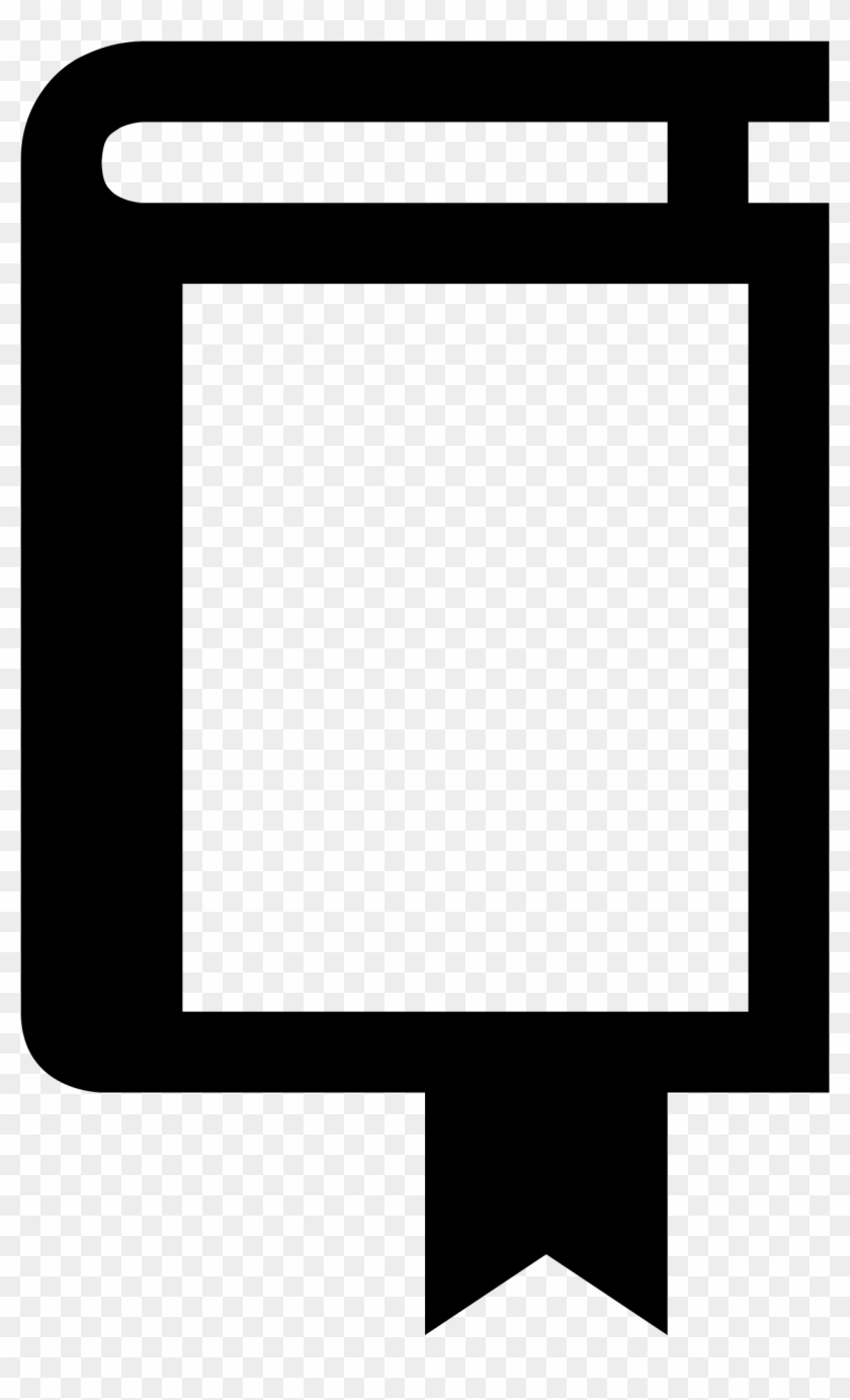 File - Bookmark - Svg - Wikimedia Commons Svg Freeuse - Download Ebook Icon #1742439