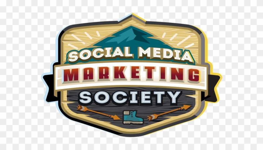 Social Media Marketing Society Logo Badge - Social Media Marketing Society #1742544