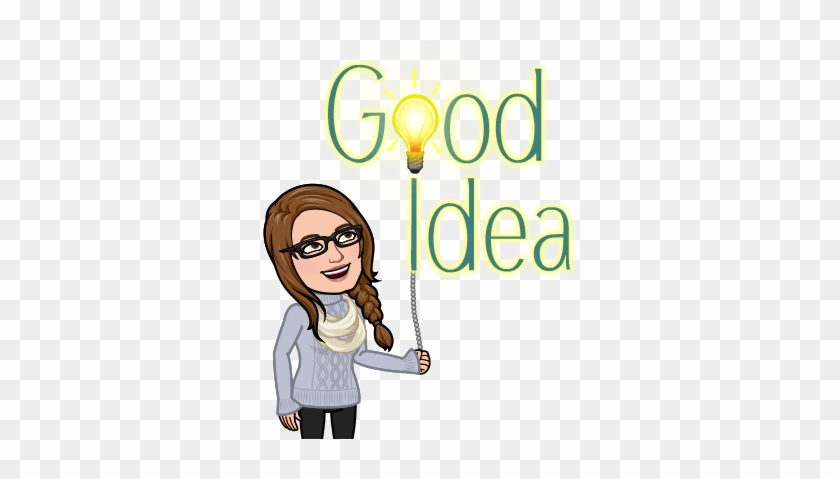 I Have Spent The Last Few Weeks At Suppers Sitting - Bitmoji Girl #1742948