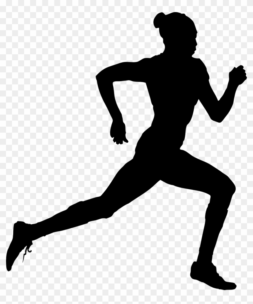 15 Athlete Vector Sports Meet For Free Download On - Track And Field Silhouette Png #1743399