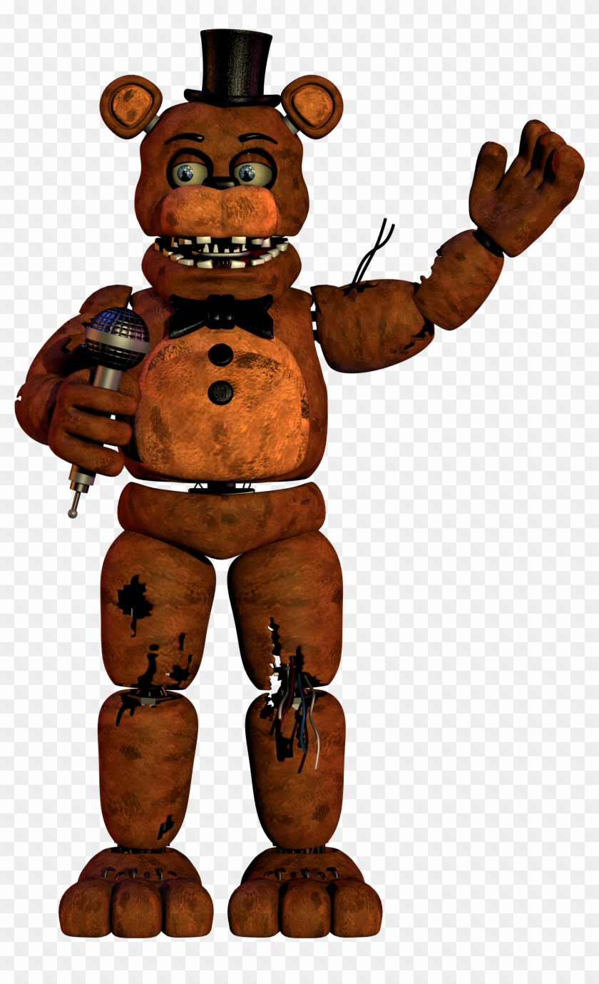 Five Nights At S Jump Scare Freddys Fnaf Ucn Withered Freddy Free Transparent Png Clipart Images Download