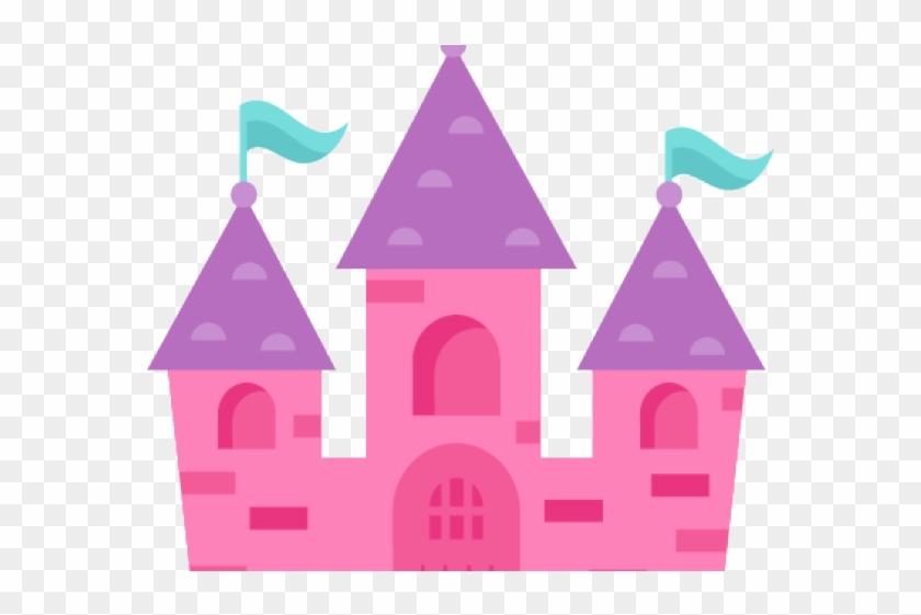 Castle Clipart Borders - Princess Castle Clipart #1746650