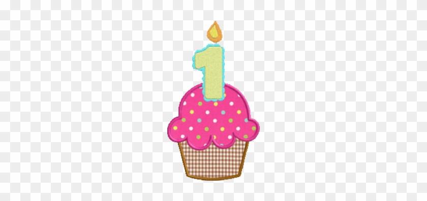 1st Birthday Cupcake Clipart #1750714
