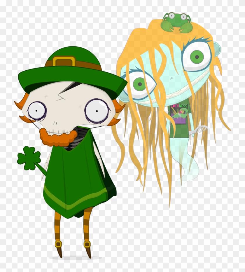 Kisspng Saint Patrick S Day Leprechaun Traps Art - Saint Patrick's Day Cartoon #1750749
