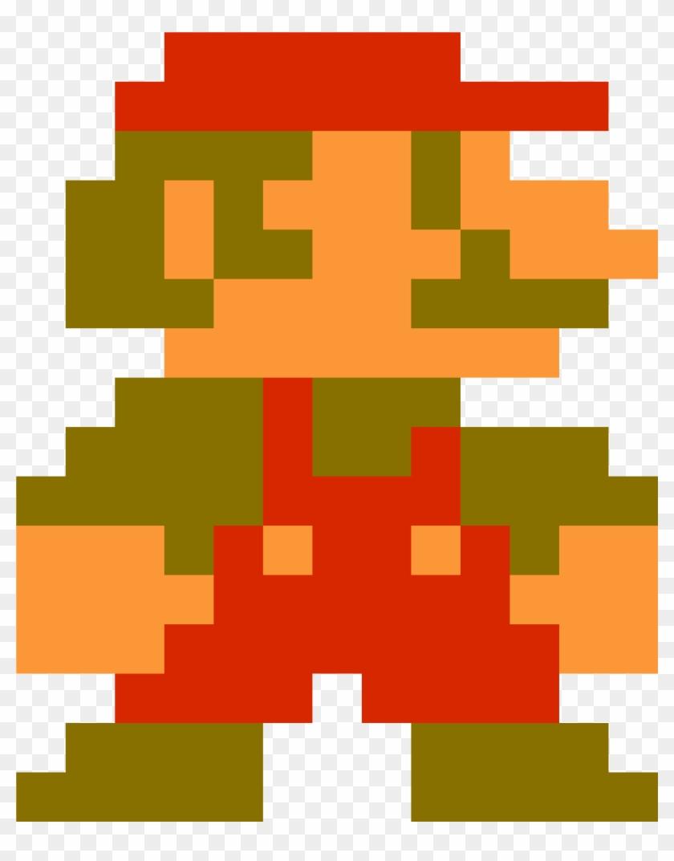 Pixel Art Maker Mario Super Mario Bros 1 Free Transparent Png
