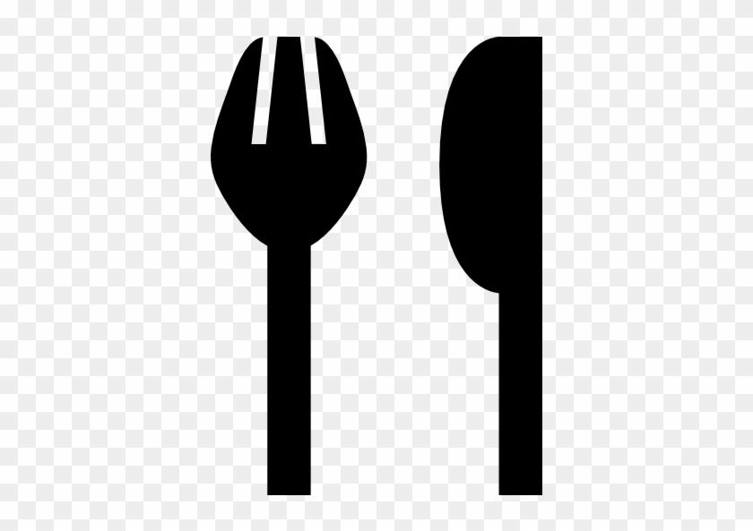 Fork And Knife Eating Utensils Free Icon - Fork #1753701