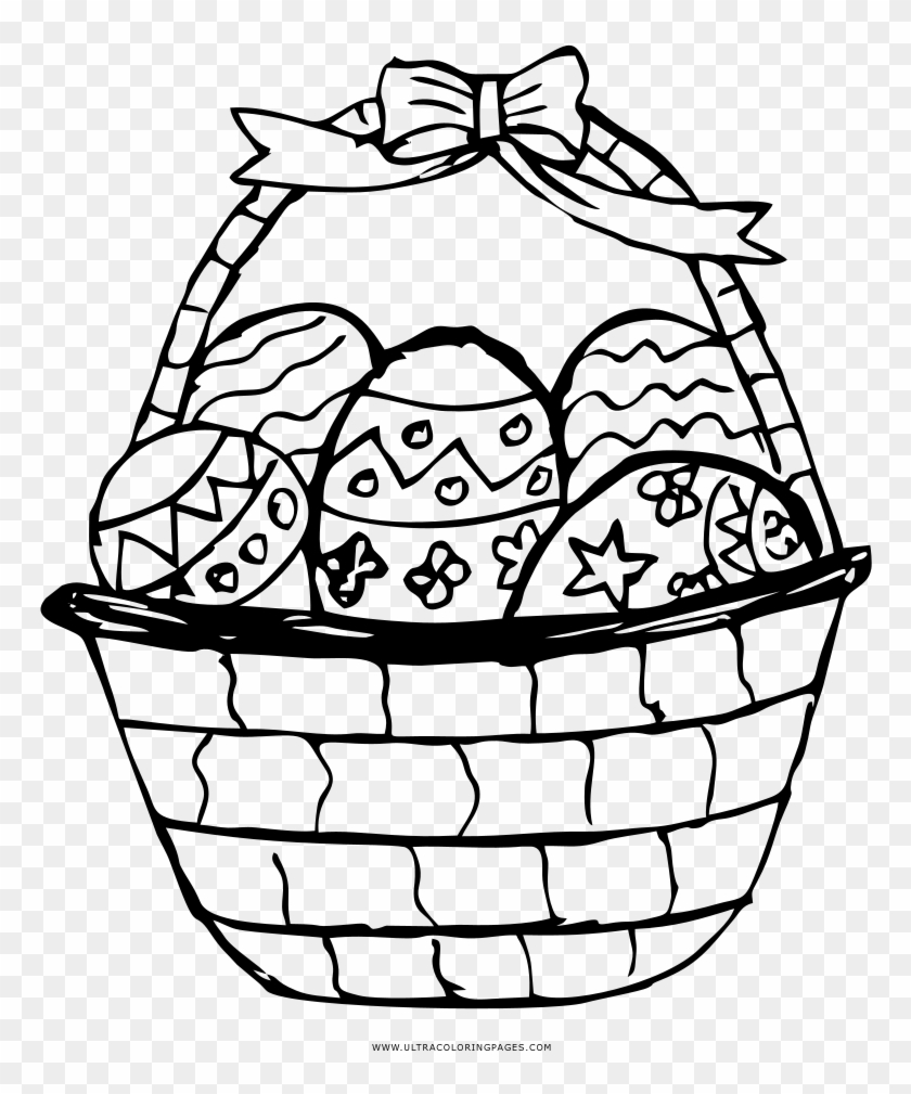 28 Easter Basket Coloring Page | Easter coloring pages, Easter ... | 1009x840