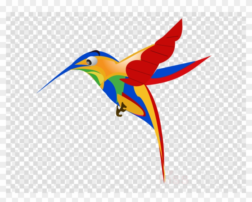 Google Hummingbird Clipart Google Hummingbird Clip - Paint Brush Stroke Png #1754513
