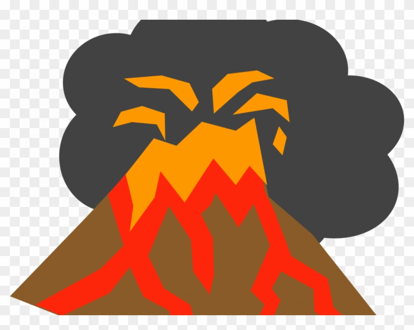 Download Volcano Clip Art Volcano Eruption Cartoon Free