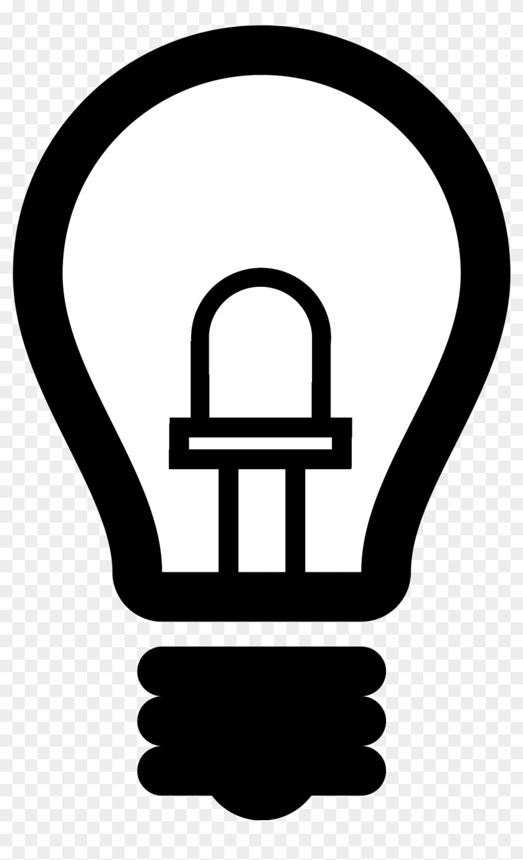 File Led Light Bulb Led Lamp 2 Png Wikimedia Commons - Light Bulb Logo Png #1756469