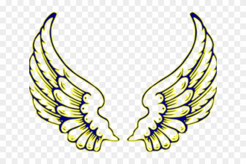 Wings Clipart Filigree - Angel Wings Icon Transparent #1756811