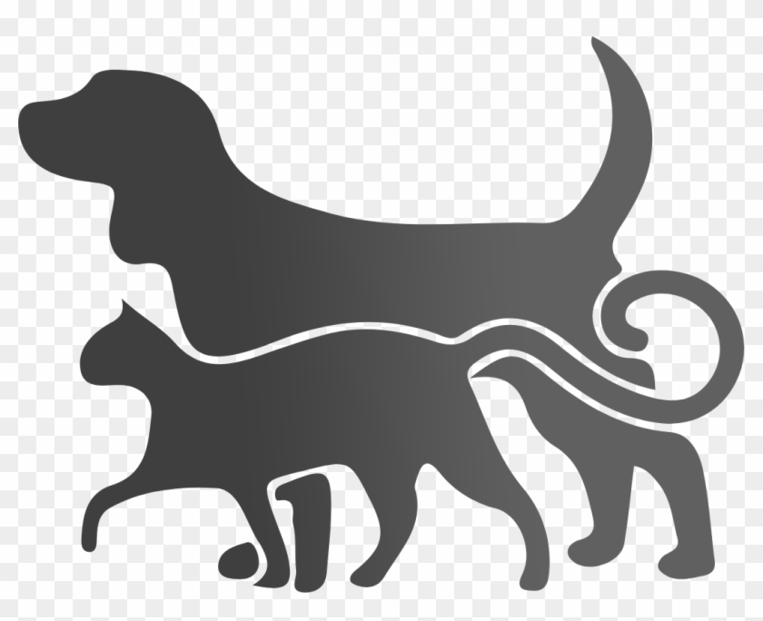 Cat Toys - Transparent Dog And Cat Silhouette #265181