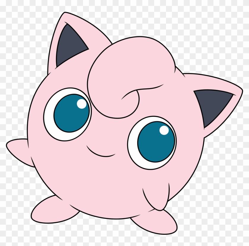 Pokémon Go Pikachu Cat Pink Face Nose Facial Expression - Pokemon Jigglypuff #265186