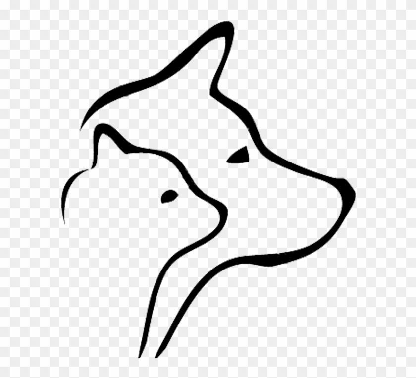 Dog Training Puppy Canine Good Citizen Professional - Cat And Dog Silhouette Vector #265217