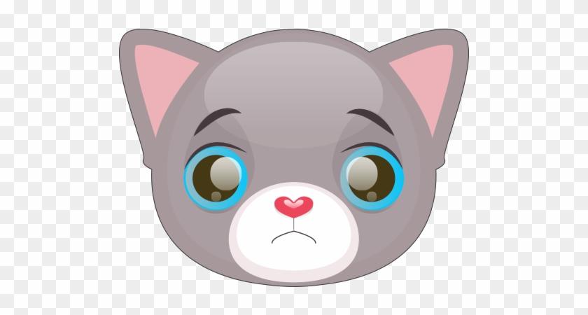 Cute Cat And Kitten Emoji Messages Sticker-2 - Kitten Emoji #265265