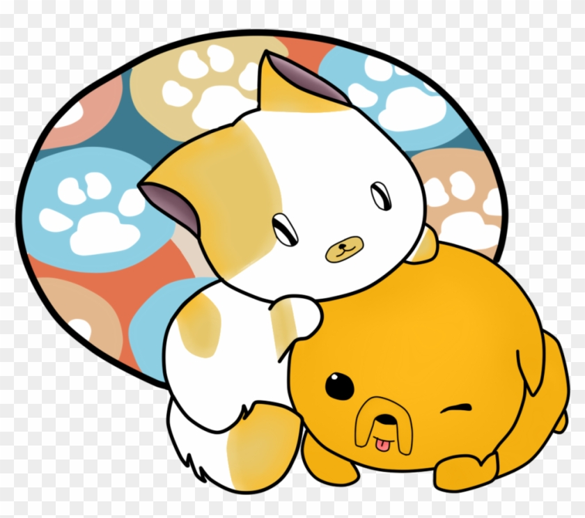 Cartoon Puppy And Kitten Images Pictures - Kitten And Puppy Drawing #265295