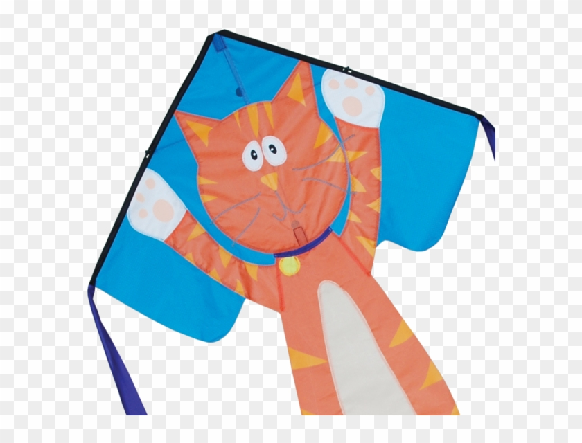"33"" Googly Kitty Cat Easy Flyer Kite - Premier Googly Kitty, Flyer Kite, 33"" X 21"" #265523"