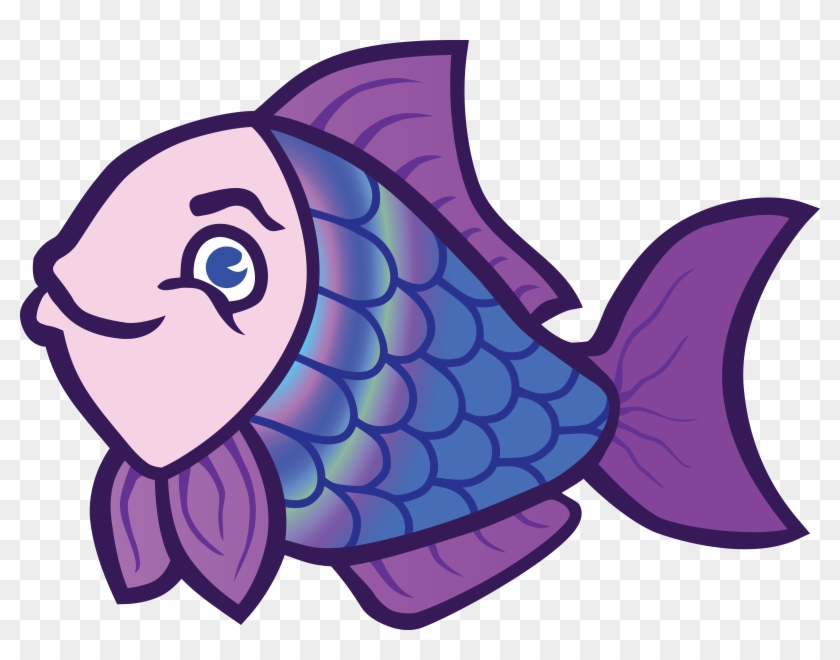 Free Clipart Of A Fish - Colorful Fish Clipart #265675