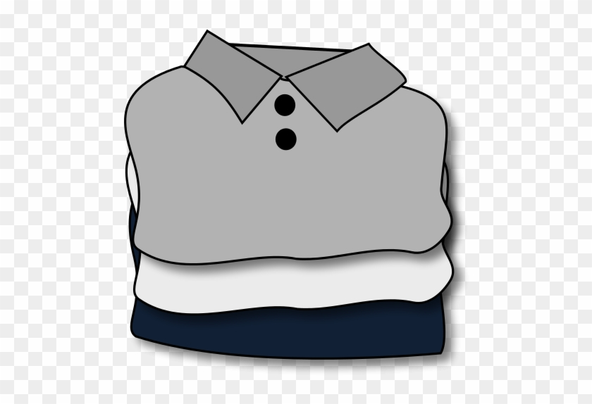 Folded Clothes - Free Clipart - Bcdownload - - Folded Clothes Clipart #265916