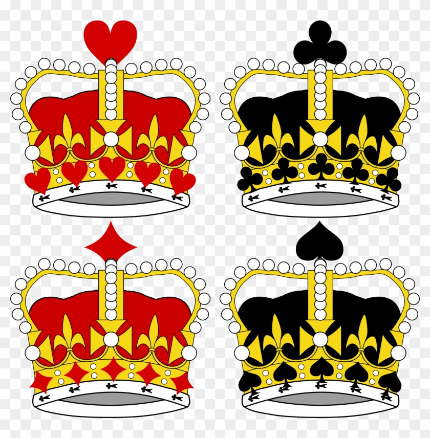 Big Image - King And Queen Crown Cartoon #266357