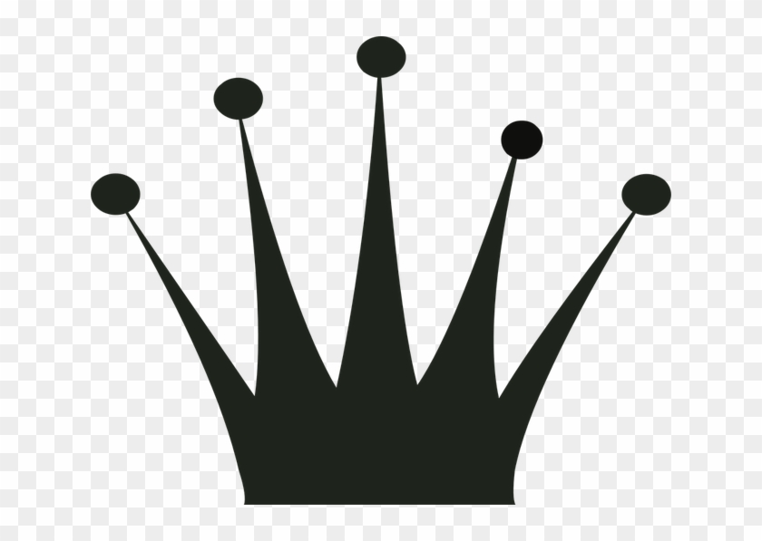 Crown, Silhouette, Gold, Clip Art, King, Queen, Prince - Crown Template For Queen #266361