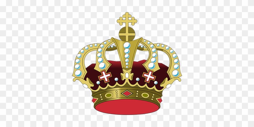 Crown King Royal Royalty Emperor Queen Rul - King Crown Clipart #266518
