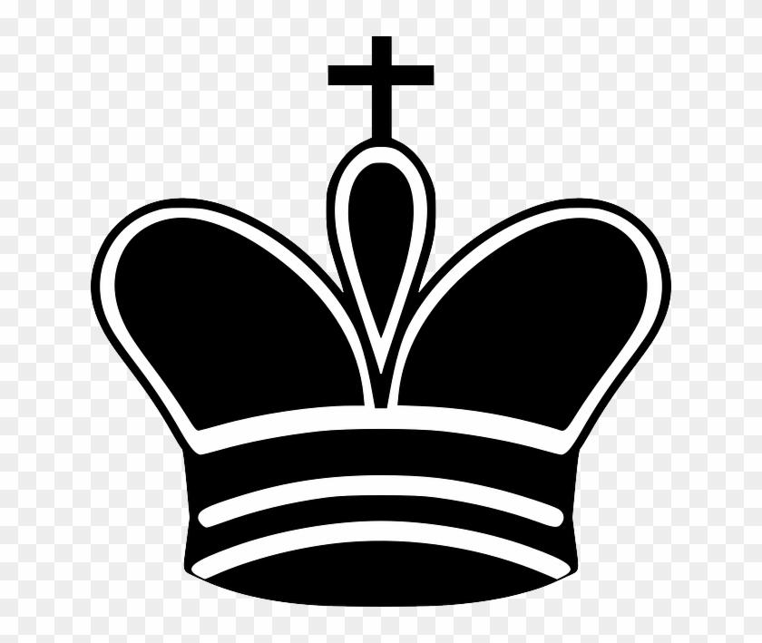 Tile Black Symbol King Queen White Cartoon Chess Black King